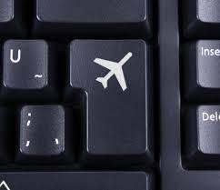 Foto avión teclado