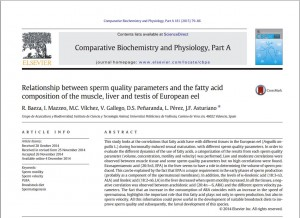 Portada Baeza et al Comp Biochem Physiol A, 2015